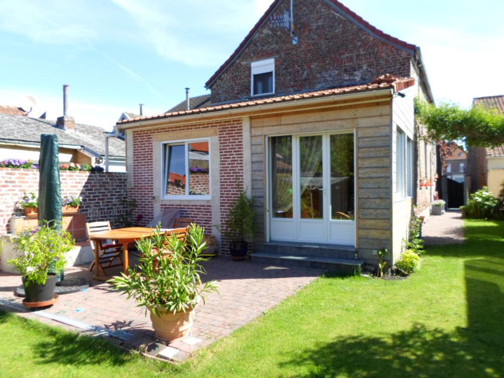 Vente maison de village individuelle semi plain pied - Garage petit sains en gohelle ...