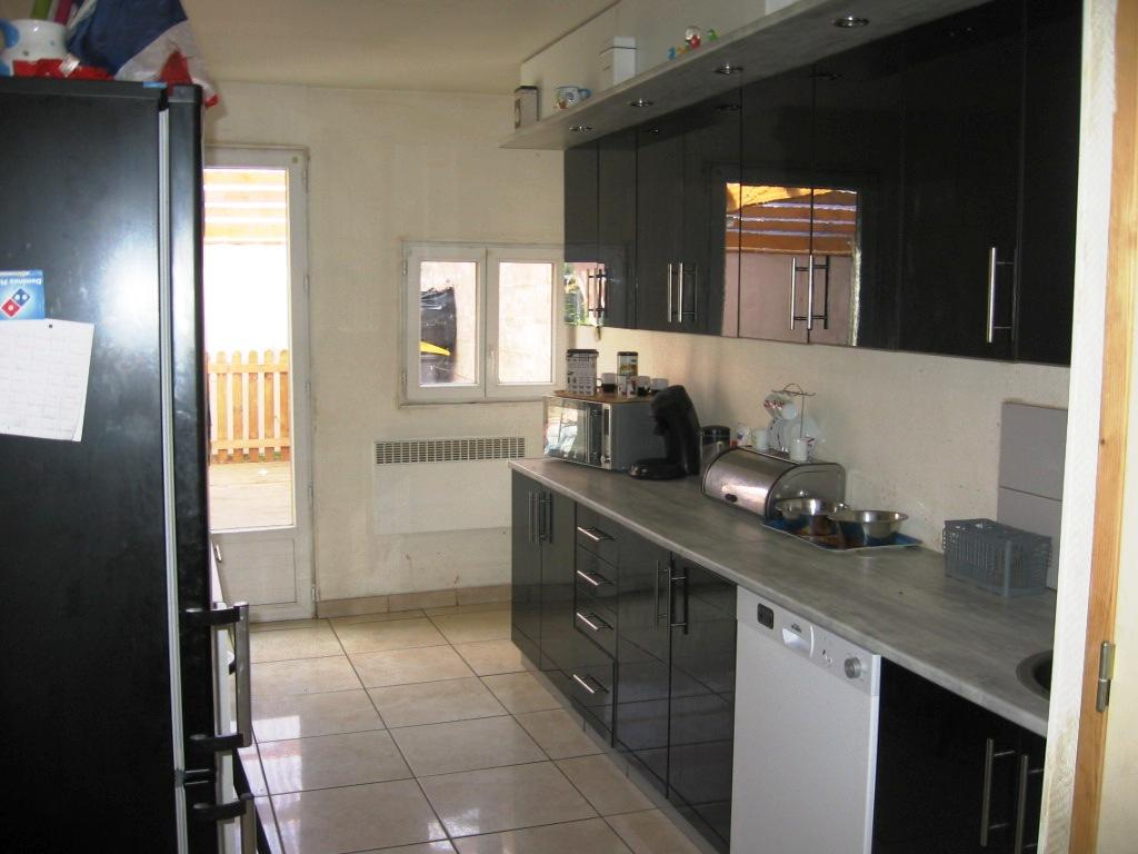 Vente grande maison de ville 3 chambres jardin 120 m habitable - Garage petit sains en gohelle ...