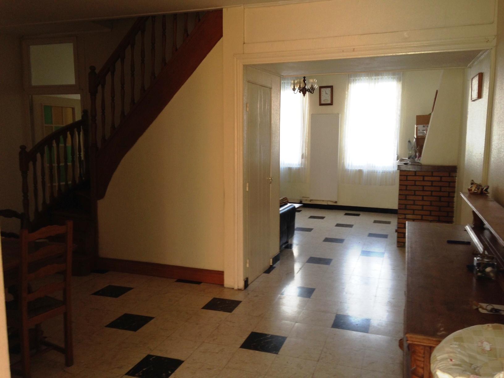 Vente maison individuelle passage sur le c t 5 chambres 1 bureau jardin terrasse 2 salles - Garage petit sains en gohelle ...