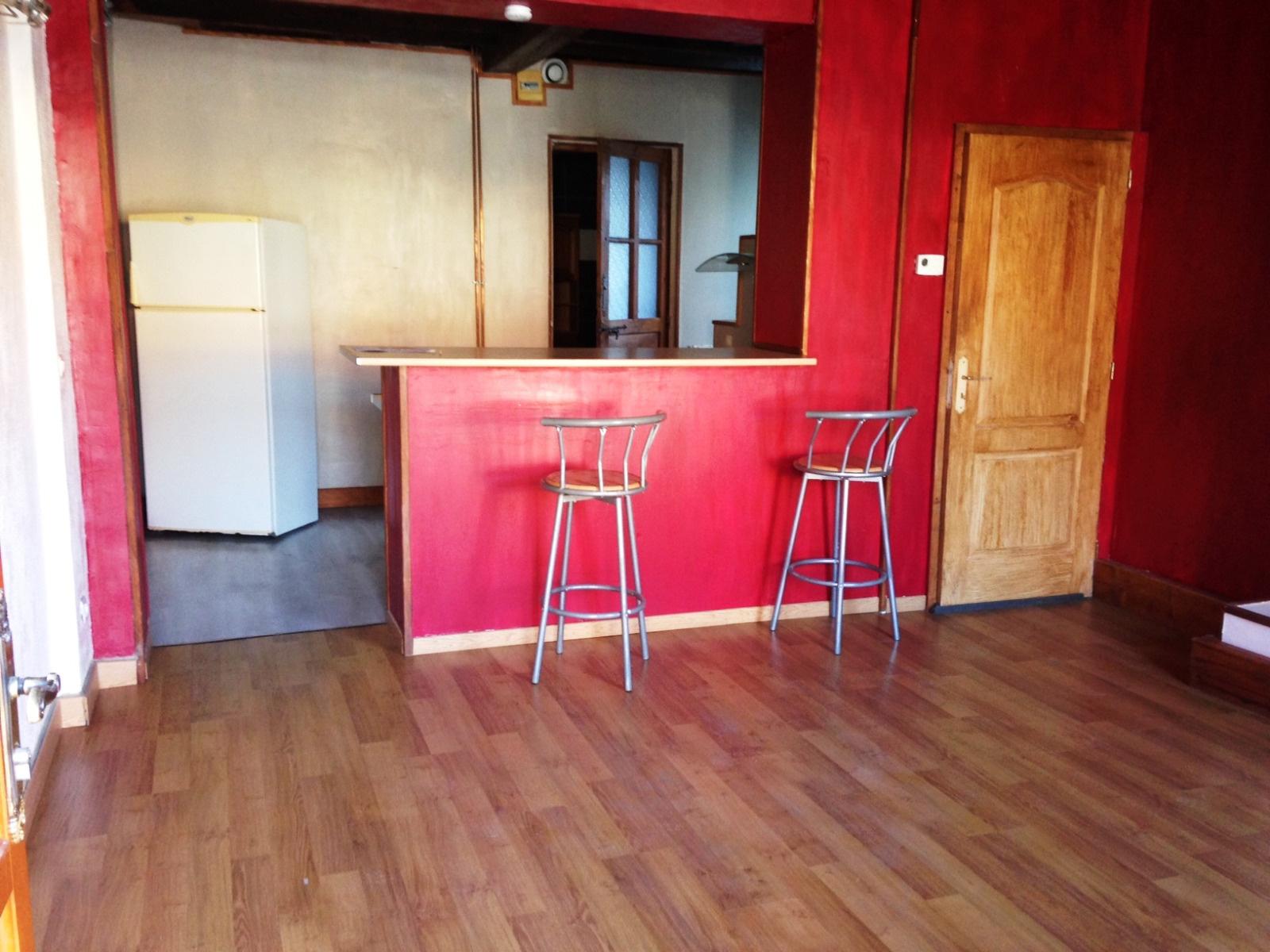 Vente maison semi individuelle 1 grande chambre s jour ouvert sur la cuisine cave - Garage petit sains en gohelle ...