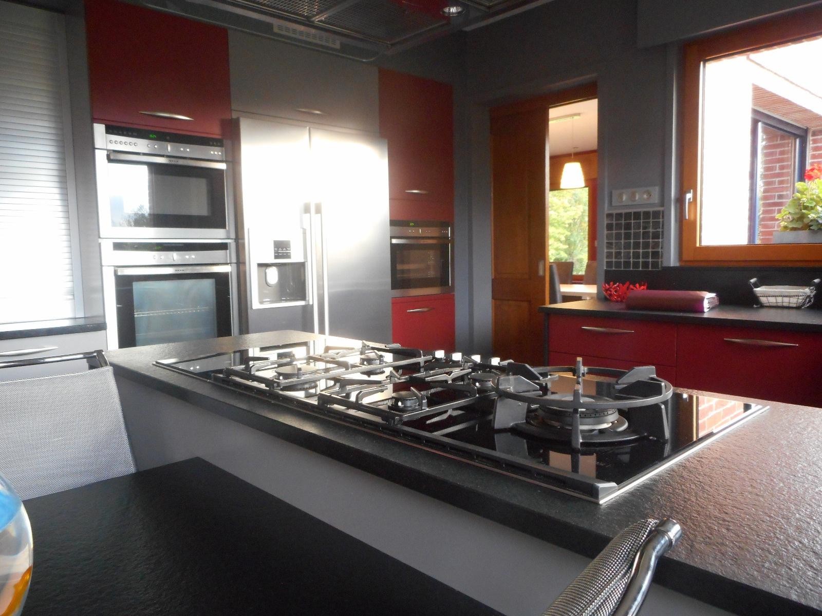 Maison d Architecte Villereau  cuisine équipée